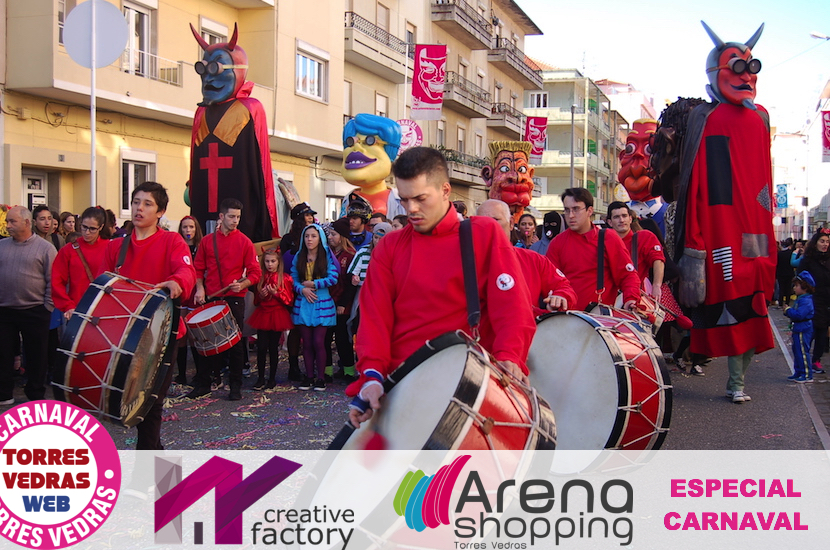 Carnaval de Torres Vedras arranca com 8200 crianças no Corso Escolar