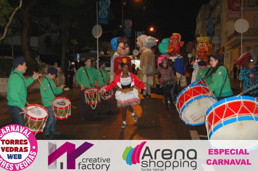 Corso Nocturno leva milhares de mascarados às ruas de Torres Vedras