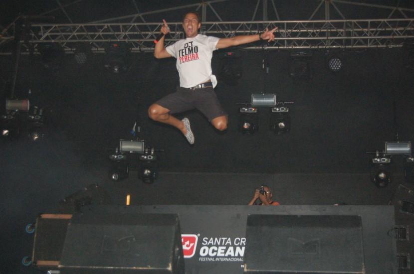 Ocean Spirit: segunda noite do festival leva mil pessoas a Santa Cruz