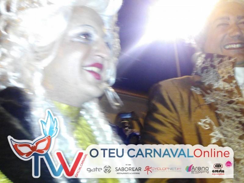 Os Reis do Carnaval já chegaram à Estação