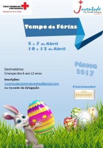 Inscrições abertas para as Férias Pascoa 2017