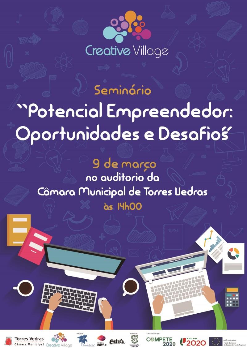 cartaz pt creative village