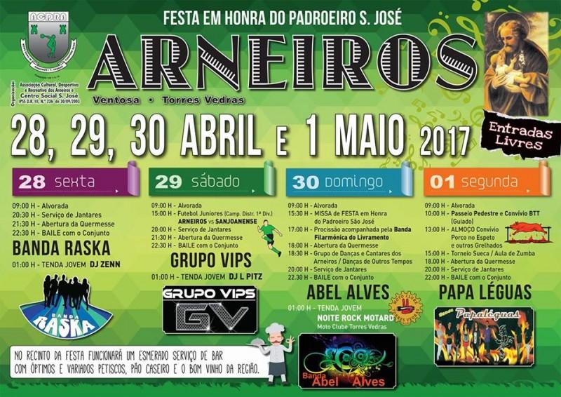Festa anual em Arneiros - Ventosa