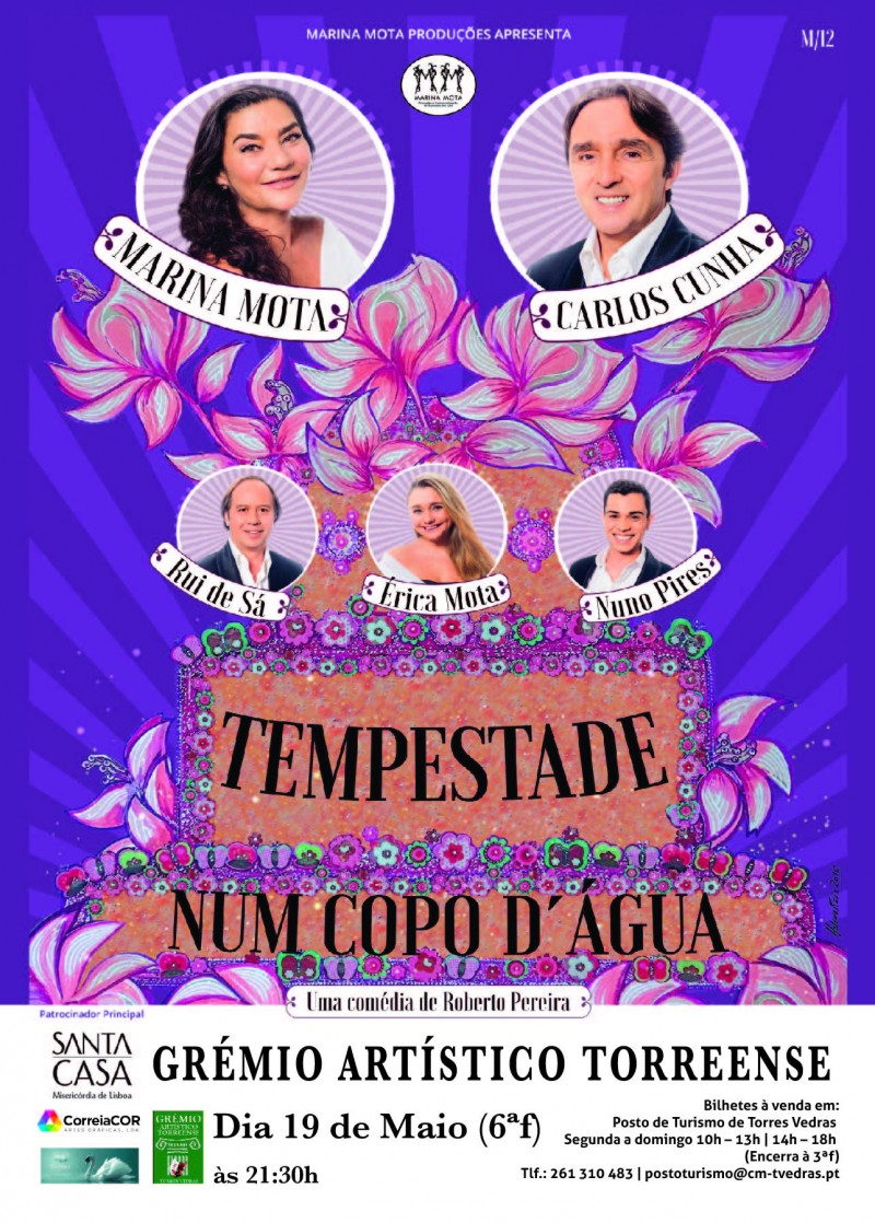 Cartaz Marina Mota Grémio