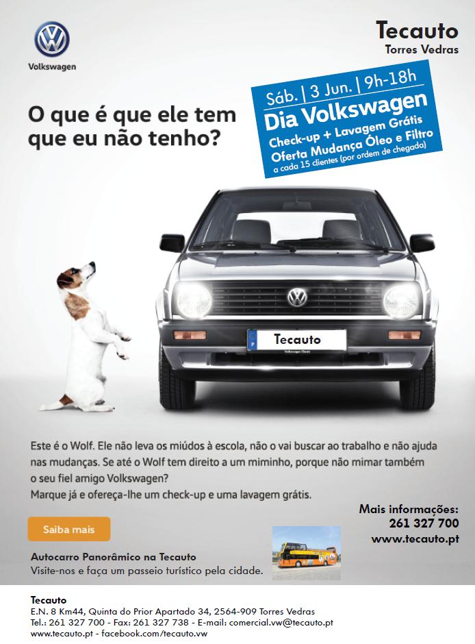 Dia VW na Tecauto