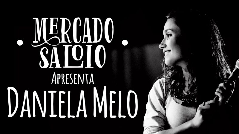 Daniela Melo no Mercado Saloio