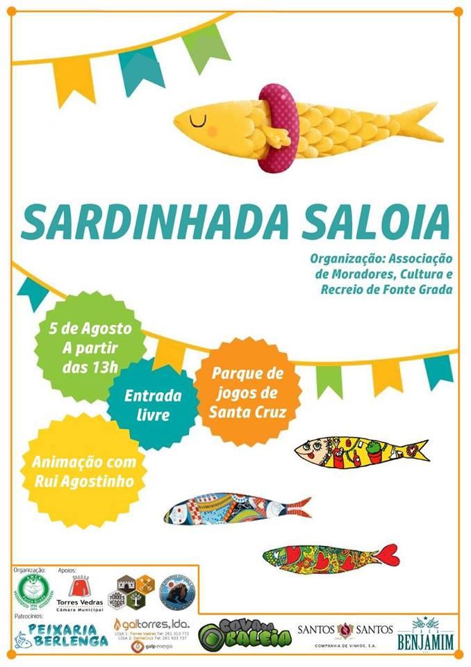 Cartaz Sardinhada Saloia