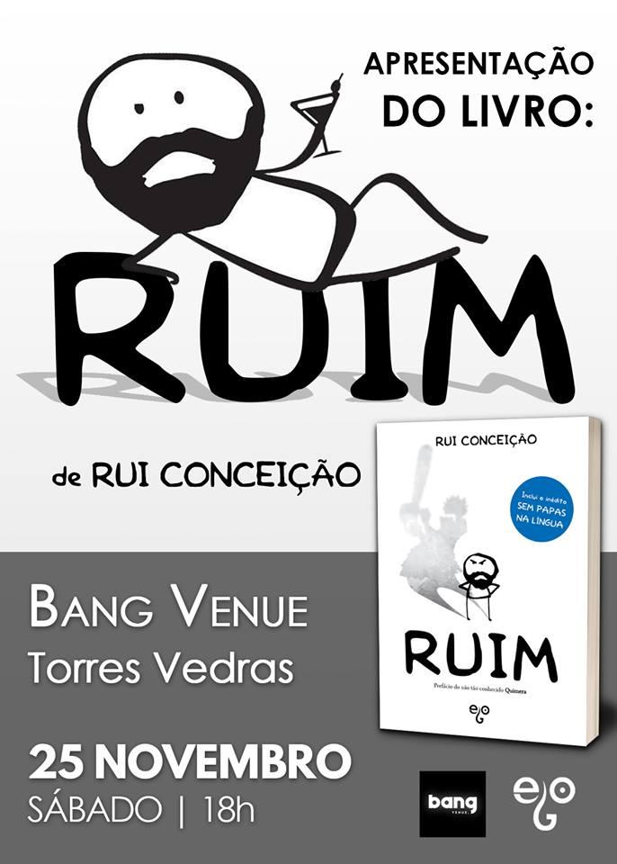 """Livro do """"Ruim"""" sábado na Bang Venue"""