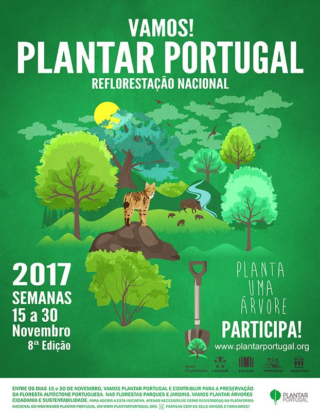 cartaz reflorestar portugal