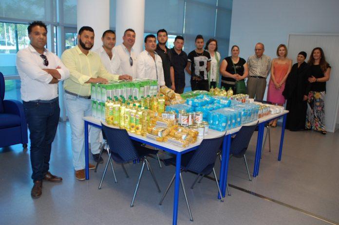 Comunidade cigana local desenvolveu campanha de angariação de bens alimentares