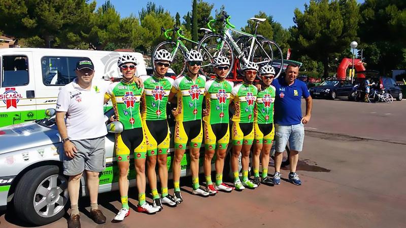Bons resultados da equipa Sicasal – Liberty Seguros - Bombarralense em Espanha