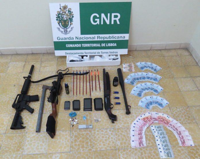 GNR detém casal por suspeito de tráfico de droga