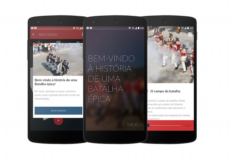 Centro de Interpretação da Batalha do Vimeiro com informação disponível em aplicação para plataformas móveis