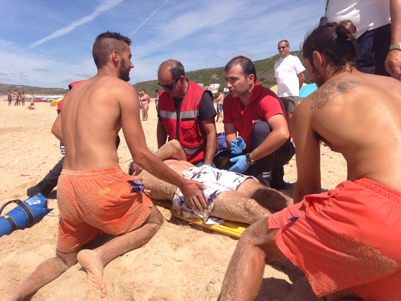 Praia Segura 2015: Simulacro de Resgate Aquático