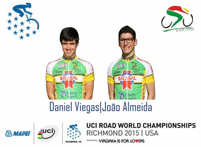 Daniel Viegas e João Almeida com bilhete para os Mundiais de Ciclismo nos EUA