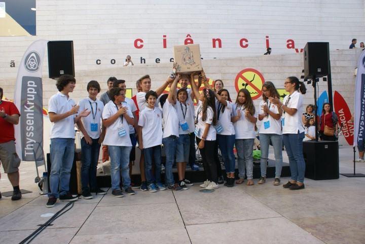 Clube Robótica do Agrupamento Escolas São Gonçalo participou no Lisbon Marker Faire