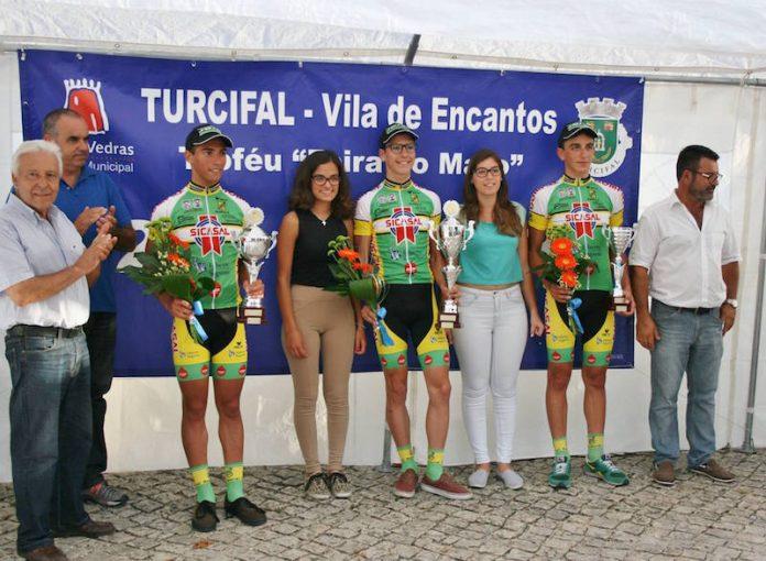 João Almeida vence no Turcifal em mais um pódio cheio da Sicasal/Liberty Seguros/Bombarralense