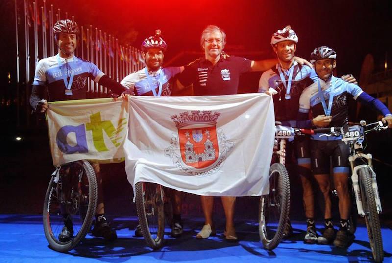 Equipa ATV voa baixinho no Powerade Madrid-Lisboa