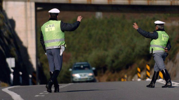 GNR intensifica fiscalização nas estradas até domingo
