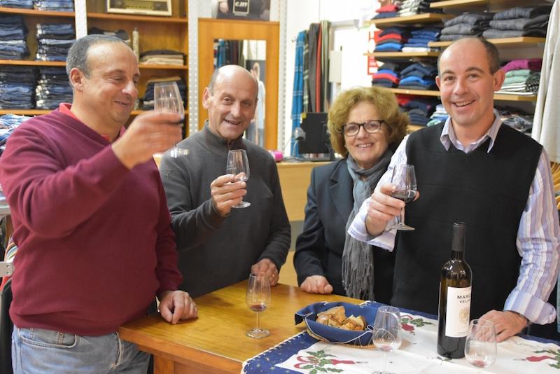 Compras, Vinho e Acordeão mais uma vez na zona histórica de Torres Vedras