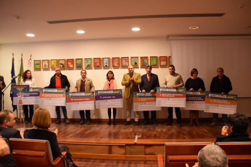 Município revela os vencedores do Orçamento Participativo 2015