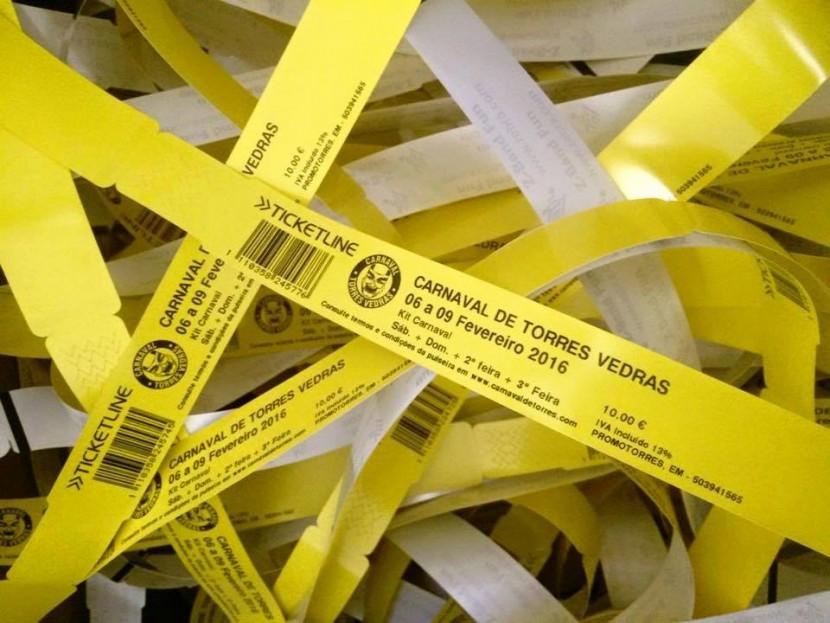 Passatempo: Oferta de 10 Livres-Trânsito para o Carnaval de Torres Vedras