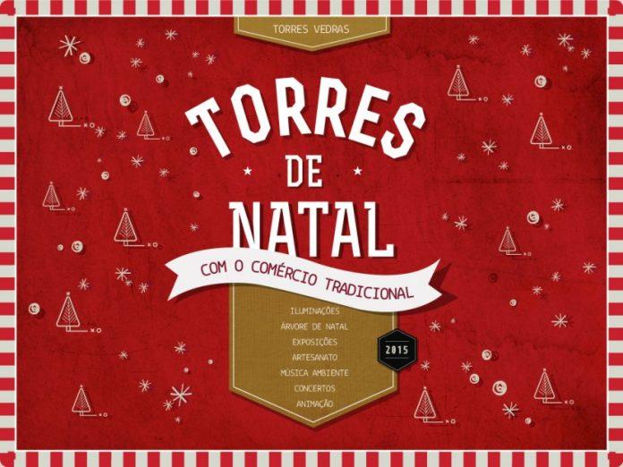 Rua do centro histórico de Torres Vedras vira galeria de arte na época de natal
