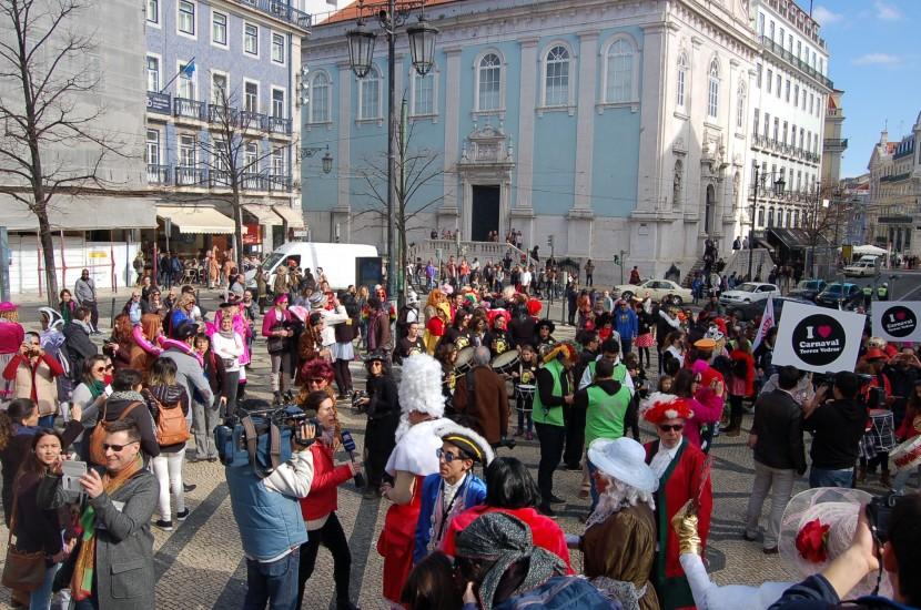 Carnaval de Torres Vedras invade a baixa lisboeta