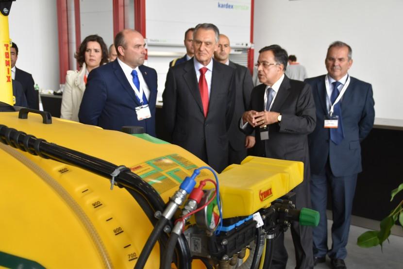 Presidente da República inaugura nova fábrica da Tomix