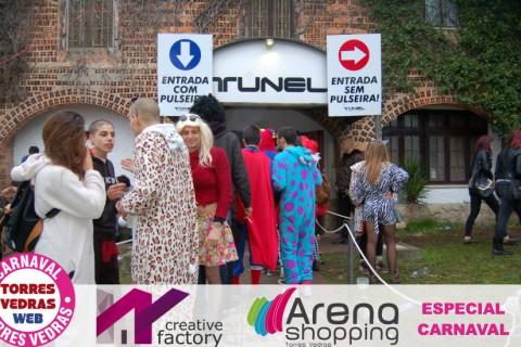Carnaval de Torres Vedras: a manhã de Terça-Feira no Túnel