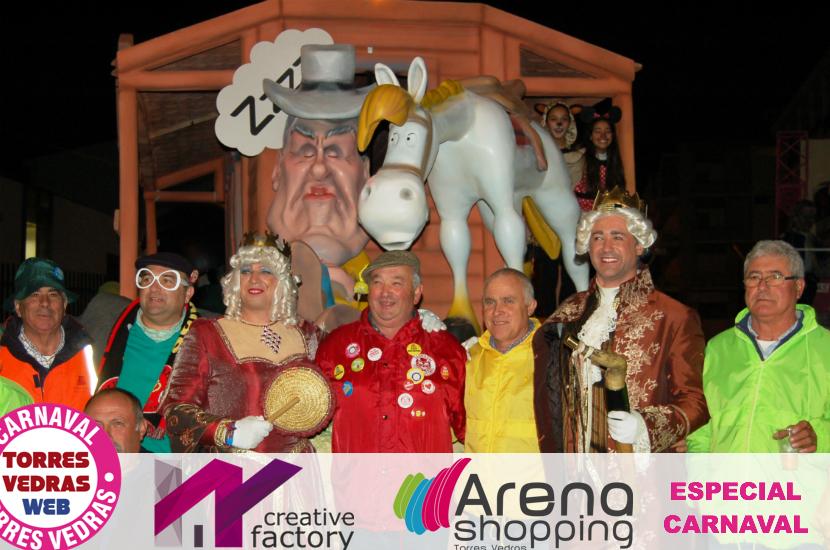 Carnaval de Torres Vedras ainda não terminou... Hoje julgamos o Rei!