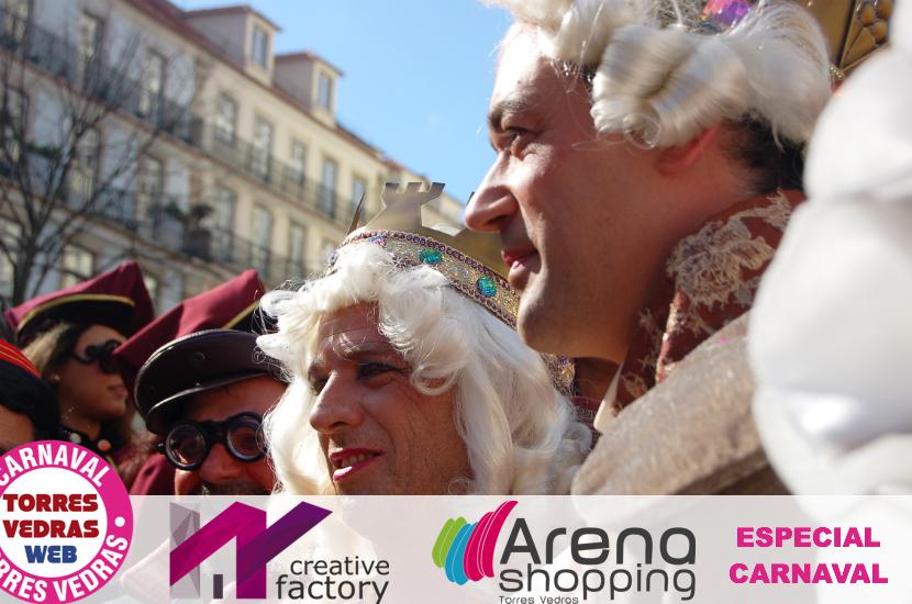 """""""Obrigado aos foliões, são eles que fazem o Carnaval de Torres"""" dizem suas Altezas Reais"""