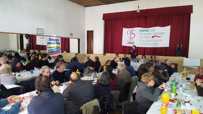 PCP de Torres Vedras festeja 95º Aniversário