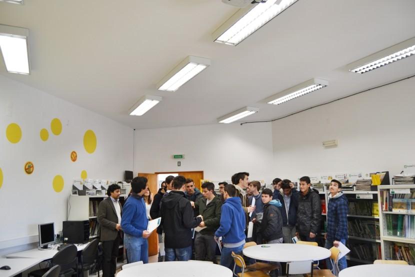 OesteSustentável inaugura Sala LED na Escola Profissional Agrícola Fernando Barros Leal
