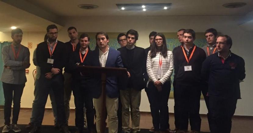 Jorge Faria de Sousa reeleito Presidente da JSD Lisboa