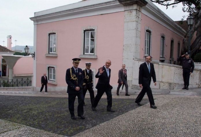 Carlos Bernardes presente na Tomada de Posse do Presidente da República