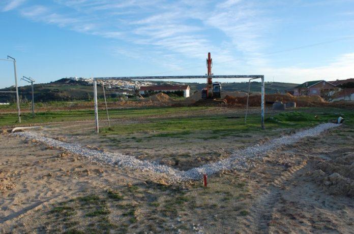 Pista de atletismo moderna está a ser construída no concelho