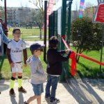 Parque infantil do Parque Verde da Várzea reabriu portas este Domingo