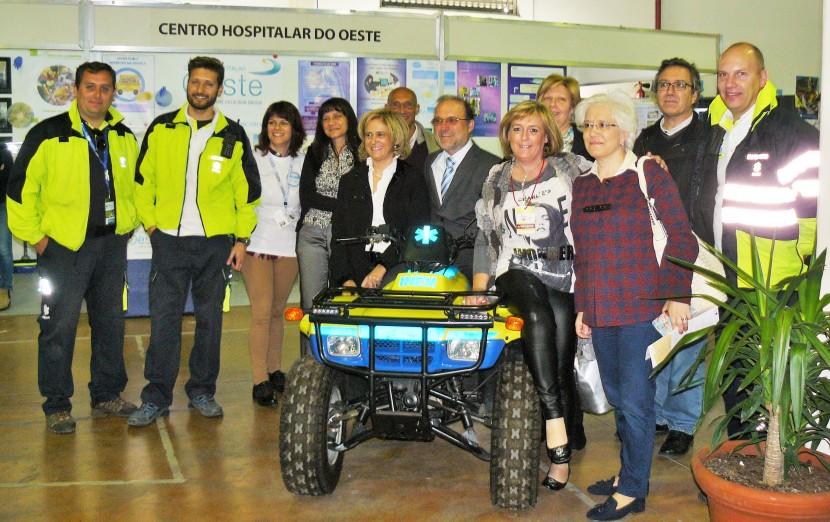 Centro Hospitalar do Oeste participou na 7.a Feira da Saúde de Torres Vedras