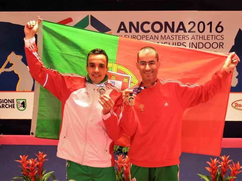 Luís Silva com duplo Ouro, Ricardo Lemos de Prata com Recorde Nacional