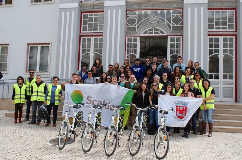 Torres Vedras acolheu alunos de turismo de Midelburgo
