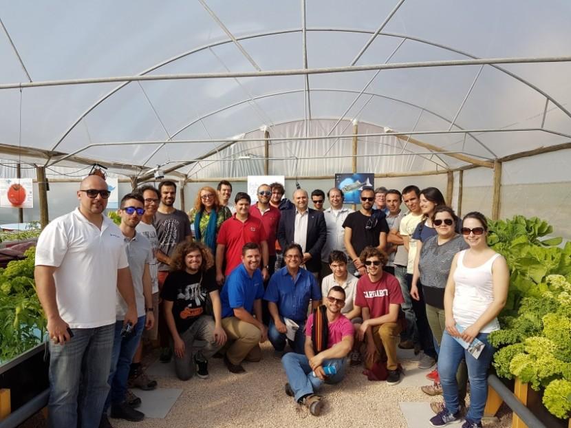 """Aquaponics Technology and Design Workshop"" traz 21 formandos a Torres Vedras"