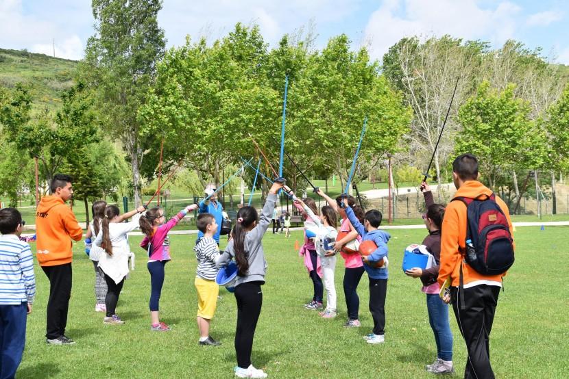 Festa reuniu alunos participantes nas AEC's municipais torrienses de âmbito físico e desportivo