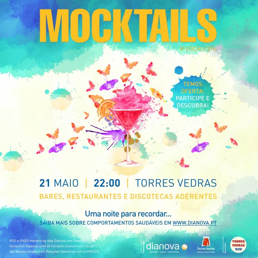 """Cidade de Torres Vedras recebe a 8ª edição dos """"Mocktails"""""""