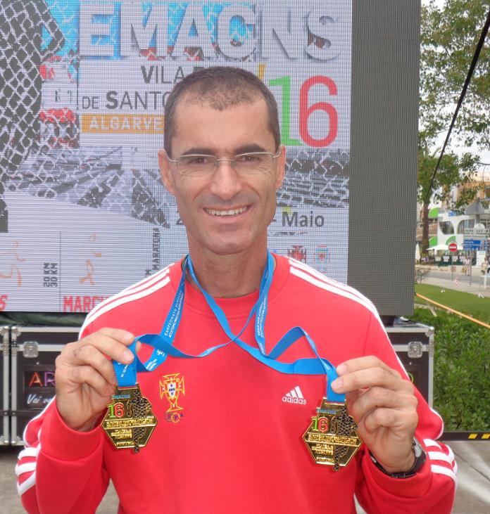 Torriense Luís Silva duplo Campeão Europeu Master de marcha em estrada