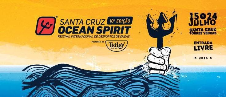 Falta um dia para o Santa Cruz Ocean Spirit Powered by Tetley