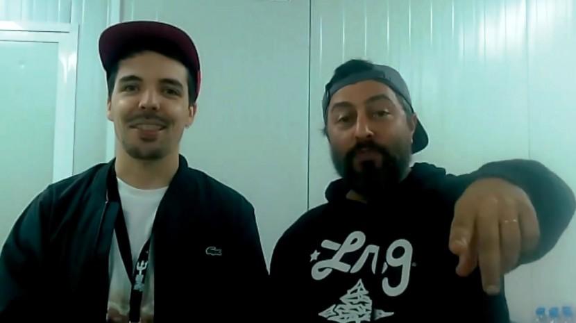 Beatbombers com o Torres Vedras Web no Santa Cruz Ocean Spirit