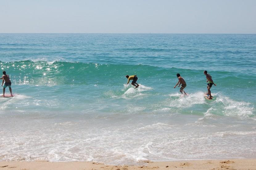 Internacional de Skimboard foi o destaque do primeiro dia de Ocean Spirit