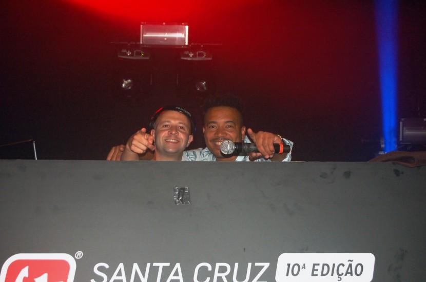 Overule e Virgul no Santa Cruz Ocean Spirit.