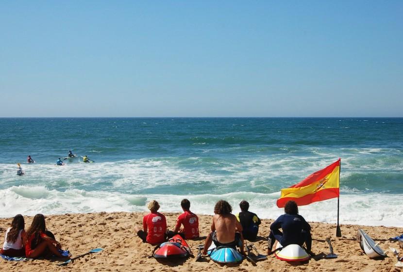 Último dia de Ocean Spirit: banhos de sol na areia com os olhos postos no mar